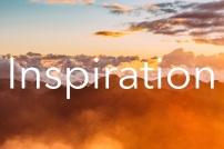 inspiration mountains orange